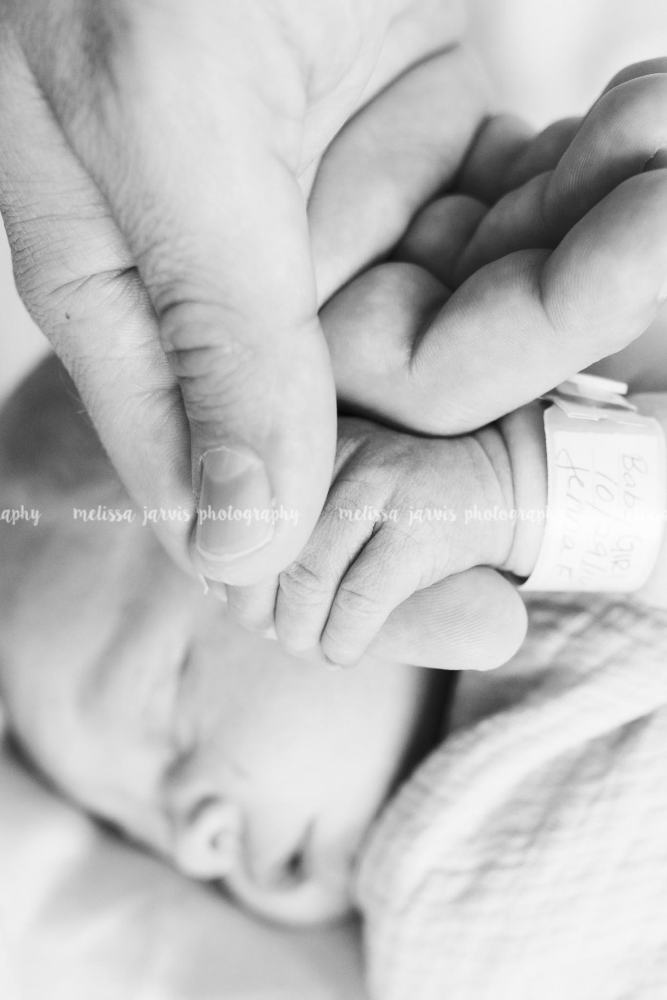 Newborn Fresh 48- In Hospital Photography- West Penn